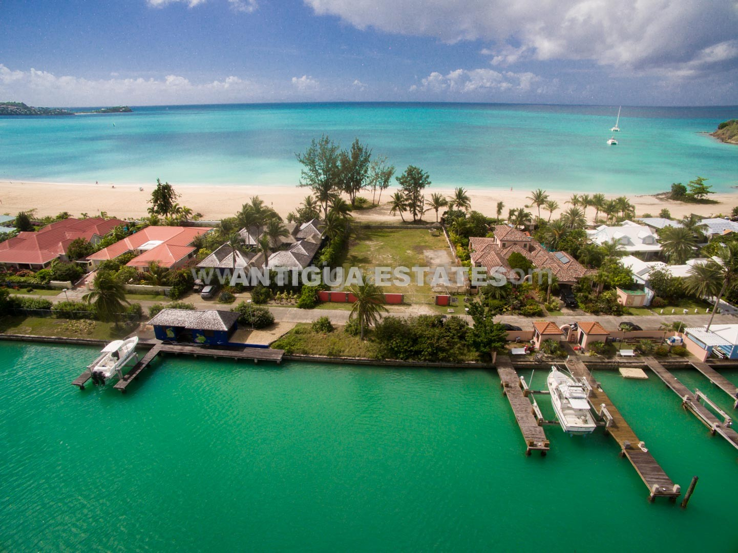 View this Beach Land in Jolly Harbour Antigua