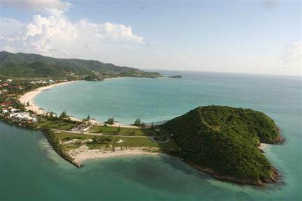 View this Marina Beach Plot in Jolly Harbour Marina Antigua